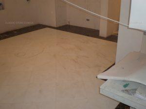 Укладка мрамора в доме