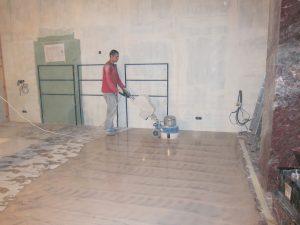 Шлифовка турецкого мрамора