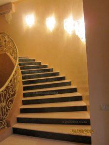 Изготовление и монтаж мраморных ступеней
